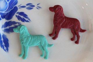Acorn & Will 【ラブラドール レドリバー 犬】ブローチ