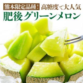 【送料無料】肥後グリーンメロン 2玉入