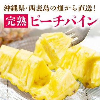 【送料無料】【西表島直送】完熟!南国蜜パイン〜ピーチパイン〜2.5kg
