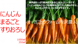 【2箱 350ml/12本+1,000ml/6本】人参ミックスジュース