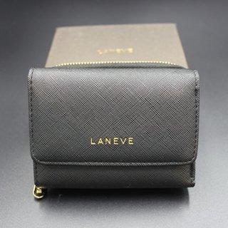 LANEVE ランイブ レディース 三つ折 BK ブラック