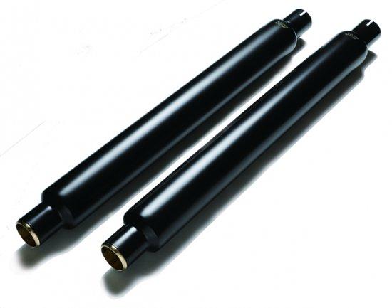 ハーレー|ソフテイル用マフラー グライドシガー 黒