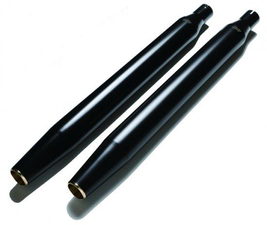 ハーレー|ソフテイル用マフラー グライドテーパード 黒
