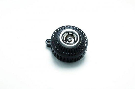 FXDR用エアクリーナーキット 67スリット/艶なしブラック×クロームメッキ ミニカバー  S&Sステルスステージ1付属