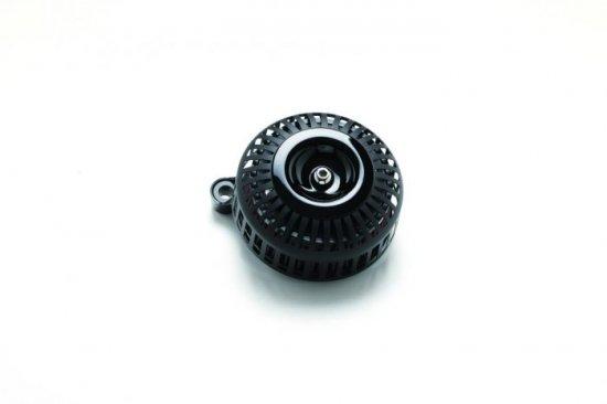 FXDR用エアクリーナーキット 67スリット/艶なしブラック×黒 ミニカバー  S&Sステルスステージ1付属