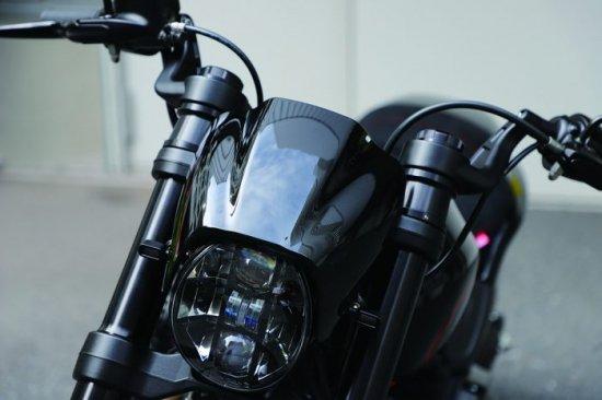 ハーレー FXDR114 パーツ|55mmハンドルアップキット