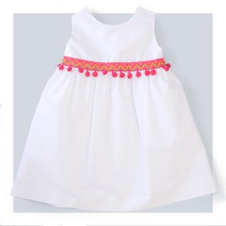Amaia Kids -Natalie dress(Pompon)