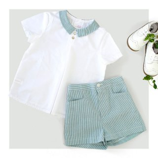 《Last 1 !》Amaia Kids - Nico shorts(green)