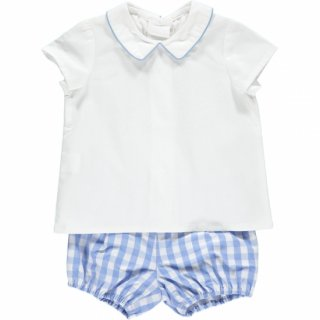 <img class='new_mark_img1' src='https://img.shop-pro.jp/img/new/icons20.gif' style='border:none;display:inline;margin:0px;padding:0px;width:auto;' />20%OFF!!  Amaia Kids - Mallard shirt(pale blue)