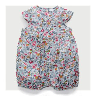 Pretty Wild - Sofia Playsuit(liberty - Betsy powder blue)