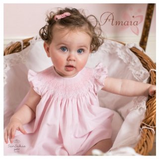 Amaia Kids - Camilla baby dress set(pink)