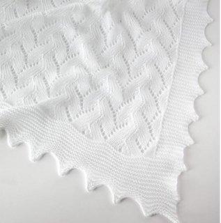 G. H. HURT&SON - Lacy Cotton Shawl