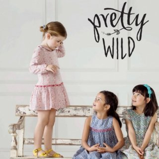 <img class='new_mark_img1' src='https://img.shop-pro.jp/img/new/icons59.gif' style='border:none;display:inline;margin:0px;padding:0px;width:auto;' />Pretty Wild Kids - Adele dress(liberty - Katie and Millie)