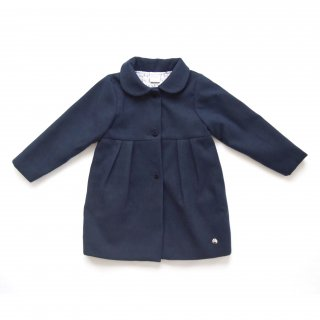 <img class='new_mark_img1' src='https://img.shop-pro.jp/img/new/icons14.gif' style='border:none;display:inline;margin:0px;padding:0px;width:auto;' />PAZ Rodriguez - Peter Pan collar coat (Navy)