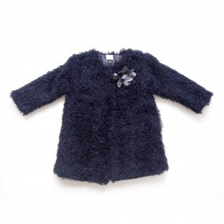 <img class='new_mark_img1' src='https://img.shop-pro.jp/img/new/icons20.gif' style='border:none;display:inline;margin:0px;padding:0px;width:auto;' />30%OFF!! - PAZ Rodriguez - Fluffy coat (Navy)