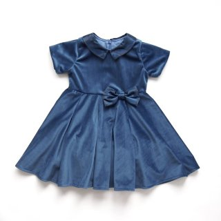 <img class='new_mark_img1' src='https://img.shop-pro.jp/img/new/icons14.gif' style='border:none;display:inline;margin:0px;padding:0px;width:auto;' />Malvi & Co. - Velvet dress (Blue)