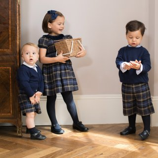 <img class='new_mark_img1' src='https://img.shop-pro.jp/img/new/icons14.gif' style='border:none;display:inline;margin:0px;padding:0px;width:auto;' />Amaia Kids - Raisin dress (Navy)