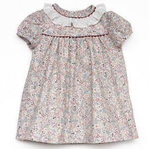<img class='new_mark_img1' src='https://img.shop-pro.jp/img/new/icons14.gif' style='border:none;display:inline;margin:0px;padding:0px;width:auto;' />Amaia Kids - Ruby dress (Terracota)