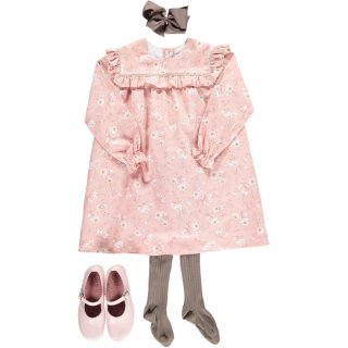 <img class='new_mark_img1' src='https://img.shop-pro.jp/img/new/icons14.gif' style='border:none;display:inline;margin:0px;padding:0px;width:auto;' />Amaia Kids - Lauren dress (Pink)