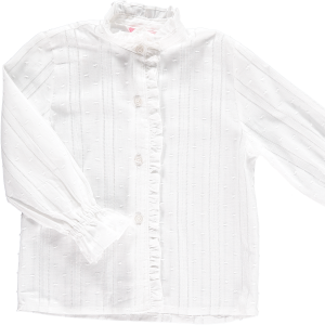 <img class='new_mark_img1' src='https://img.shop-pro.jp/img/new/icons23.gif' style='border:none;display:inline;margin:0px;padding:0px;width:auto;' />15%OFF - Amaia Kids - Greta blouse (White)