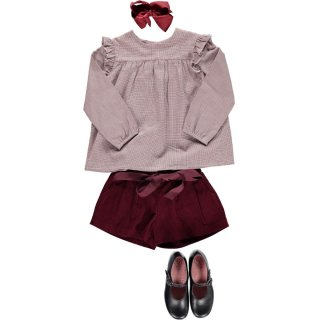 <img class='new_mark_img1' src='https://img.shop-pro.jp/img/new/icons14.gif' style='border:none;display:inline;margin:0px;padding:0px;width:auto;' />Amaia Kids - Henriette blouse (Burgundy)
