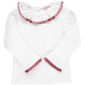 <img class='new_mark_img1' src='https://img.shop-pro.jp/img/new/icons14.gif' style='border:none;display:inline;margin:0px;padding:0px;width:auto;' />Amaia Kids - Chelsea blouse (Burgundy)