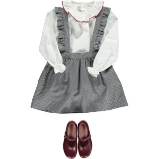 <img class='new_mark_img1' src='https://img.shop-pro.jp/img/new/icons14.gif' style='border:none;display:inline;margin:0px;padding:0px;width:auto;' />Amaia Kids - Mary skirt (Grey)