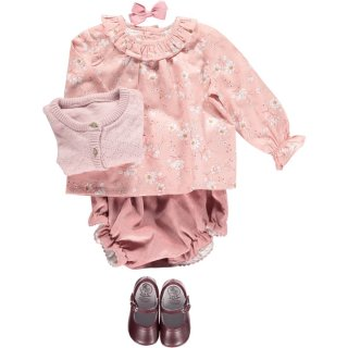 <img class='new_mark_img1' src='https://img.shop-pro.jp/img/new/icons14.gif' style='border:none;display:inline;margin:0px;padding:0px;width:auto;' />Amaia Kids - Amelia blouse (Pink)