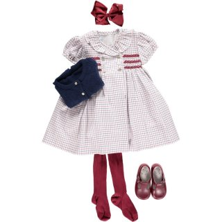 <img class='new_mark_img1' src='https://img.shop-pro.jp/img/new/icons14.gif' style='border:none;display:inline;margin:0px;padding:0px;width:auto;' />Amaia Kids - Gooseberry dress (Red)