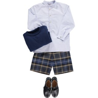 <img class='new_mark_img1' src='https://img.shop-pro.jp/img/new/icons14.gif' style='border:none;display:inline;margin:0px;padding:0px;width:auto;' />Amaia Kids - Leo shorts (Navy)