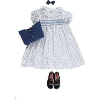 <img class='new_mark_img1' src='https://img.shop-pro.jp/img/new/icons14.gif' style='border:none;display:inline;margin:0px;padding:0px;width:auto;' />Amaia Kids - Shirley dress (Blue)