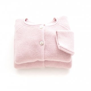 <img class='new_mark_img1' src='https://img.shop-pro.jp/img/new/icons14.gif' style='border:none;display:inline;margin:0px;padding:0px;width:auto;' />Malvi & Co. - Wool cardigan(Baby Pink)