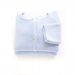 <img class='new_mark_img1' src='https://img.shop-pro.jp/img/new/icons20.gif' style='border:none;display:inline;margin:0px;padding:0px;width:auto;' />Malvi & Co. - Wool cardigan(Baby Blue)