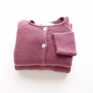 <img class='new_mark_img1' src='https://img.shop-pro.jp/img/new/icons14.gif' style='border:none;display:inline;margin:0px;padding:0px;width:auto;' />Malvi & Co. - Wool cardigan(Ruby)