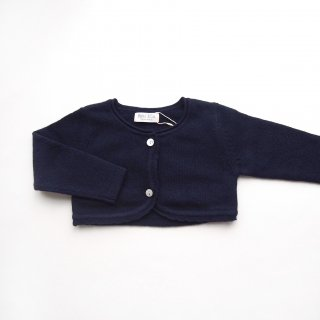 <img class='new_mark_img1' src='https://img.shop-pro.jp/img/new/icons14.gif' style='border:none;display:inline;margin:0px;padding:0px;width:auto;' />Malvi & Co. - Scallops bolero(Navy)
