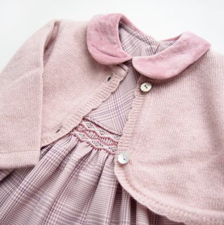<img class='new_mark_img1' src='https://img.shop-pro.jp/img/new/icons14.gif' style='border:none;display:inline;margin:0px;padding:0px;width:auto;' />Malvi & Co. - Scallops bolero(Pink)