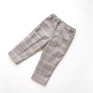 <img class='new_mark_img1' src='https://img.shop-pro.jp/img/new/icons14.gif' style='border:none;display:inline;margin:0px;padding:0px;width:auto;' />Malvi & Co. - Tartan trousers (Navy×Red, Beige )
