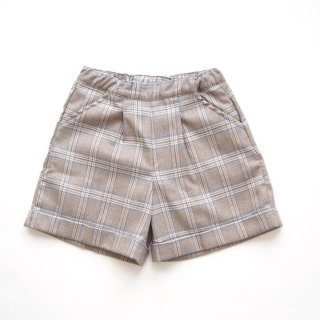 <img class='new_mark_img1' src='https://img.shop-pro.jp/img/new/icons14.gif' style='border:none;display:inline;margin:0px;padding:0px;width:auto;' />Malvi & Co. - Tartan bermuda (Beige, Blue, Pink )