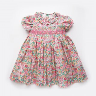 <img class='new_mark_img1' src='https://img.shop-pro.jp/img/new/icons14.gif' style='border:none;display:inline;margin:0px;padding:0px;width:auto;' />Amaia Kids - Moohren dress (Liberty Pink )