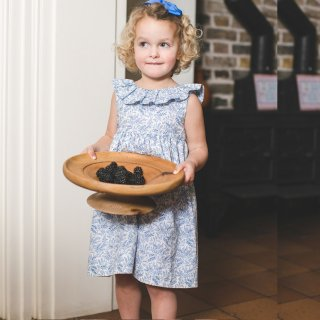 <img class='new_mark_img1' src='https://img.shop-pro.jp/img/new/icons14.gif' style='border:none;display:inline;margin:0px;padding:0px;width:auto;' />Amaia Kids - Poppy dress (Liberty Blue)