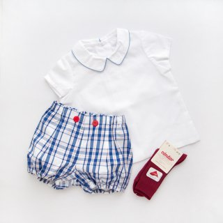 Amaia Kids - Gary bloomer(Blue&red)
