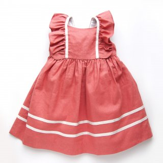 <img class='new_mark_img1' src='https://img.shop-pro.jp/img/new/icons14.gif' style='border:none;display:inline;margin:0px;padding:0px;width:auto;' />Amaia Kids - Snowdrop dress (Linen)