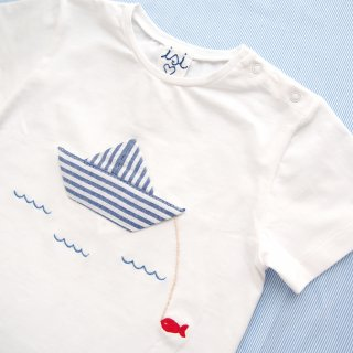 <img class='new_mark_img1' src='https://img.shop-pro.jp/img/new/icons14.gif' style='border:none;display:inline;margin:0px;padding:0px;width:auto;' />10%OFF Malvi & Co. - Boat T-shirt