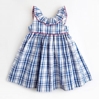 <img class='new_mark_img1' src='https://img.shop-pro.jp/img/new/icons14.gif' style='border:none;display:inline;margin:0px;padding:0px;width:auto;' />Amaia Kids - Poppy dress (Blue&red)