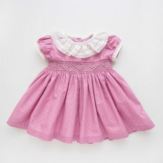 <img class='new_mark_img1' src='https://img.shop-pro.jp/img/new/icons14.gif' style='border:none;display:inline;margin:0px;padding:0px;width:auto;' />Camellia boutique - Smocked plumetti dress(Amethyst pink)