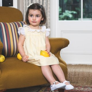 <img class='new_mark_img1' src='https://img.shop-pro.jp/img/new/icons14.gif' style='border:none;display:inline;margin:0px;padding:0px;width:auto;' />Amaia Kids - Marguarita dress (Yellow)