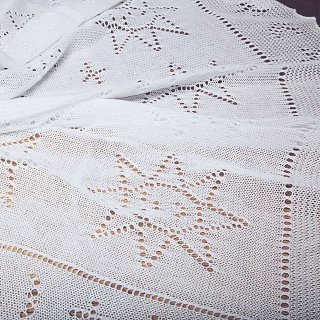 G. H. HURT&SON - Star and Moon Cotton Shawl