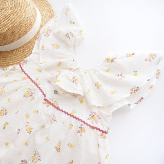 <img class='new_mark_img1' src='https://img.shop-pro.jp/img/new/icons20.gif' style='border:none;display:inline;margin:0px;padding:0px;width:auto;' />30%OFF Amaia Kids SS19 - Kaya dress (White)