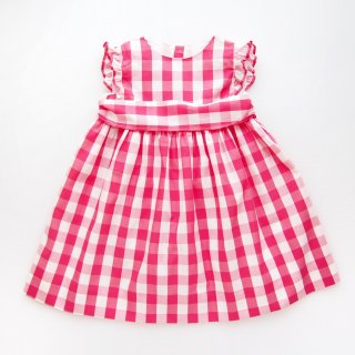 <img class='new_mark_img1' src='https://img.shop-pro.jp/img/new/icons14.gif' style='border:none;display:inline;margin:0px;padding:0px;width:auto;' />Amaia Kids - Marylin dress (Pink gingham)