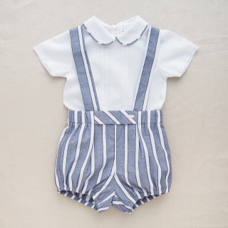 <img class='new_mark_img1' src='https://img.shop-pro.jp/img/new/icons14.gif' style='border:none;display:inline;margin:0px;padding:0px;width:auto;' />baby lai - Stripy baby boy set up